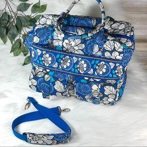 Vera Bradley Blue Bayou Cargo Travel Tote Bag